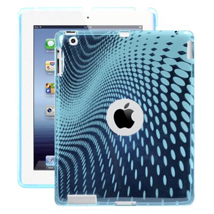 Electron Wave (Ljusblå) iPad 3 Skal / iPad 4 Skal