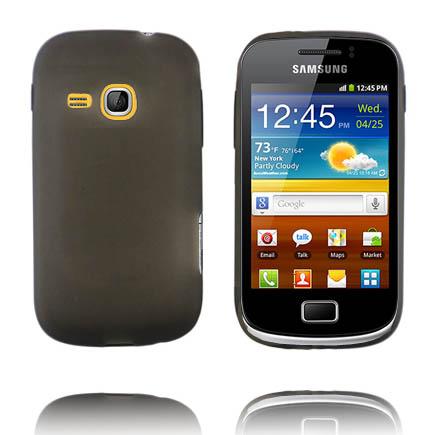 Mjukskal (Grå) Samsung Galaxy Mini 2 Silikonskal