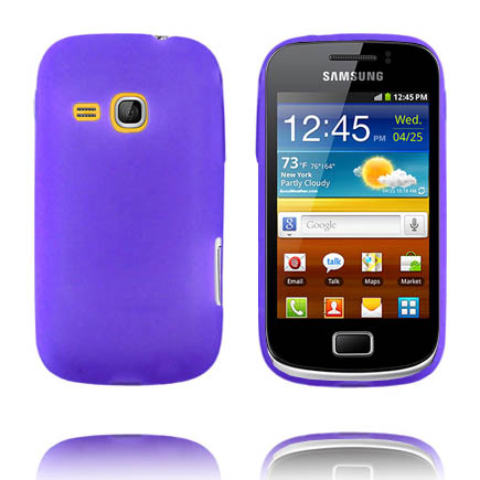 Mjukskal (Lila) Samsung Galaxy Mini 2 Silikonskal