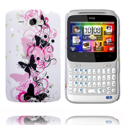 Valentine (Svarta Fjärilar) HTC ChaCha Skal