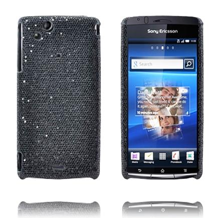 Victoria (Svart) Sony Ericsson Xperia Arc Skal