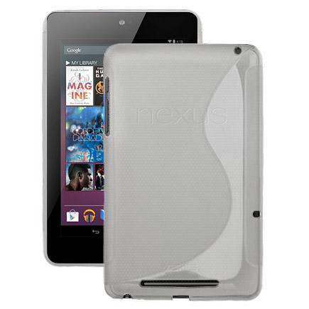 S-Line Transparent (Vit) ASUS Google Nexus 7 Skal