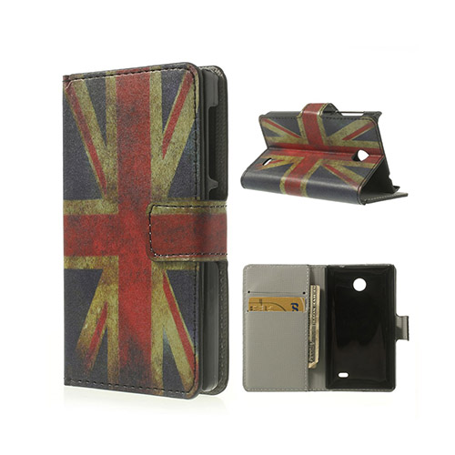 Moberg (Retro UK Flag) Nokia X Flip-Fodral