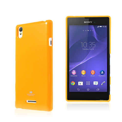 Mercury (Orange) Sony Xperia T3 Skal