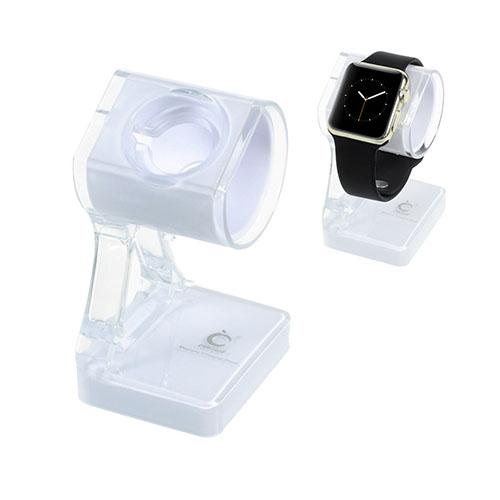 Laddstativ till Apple Watch – Vit