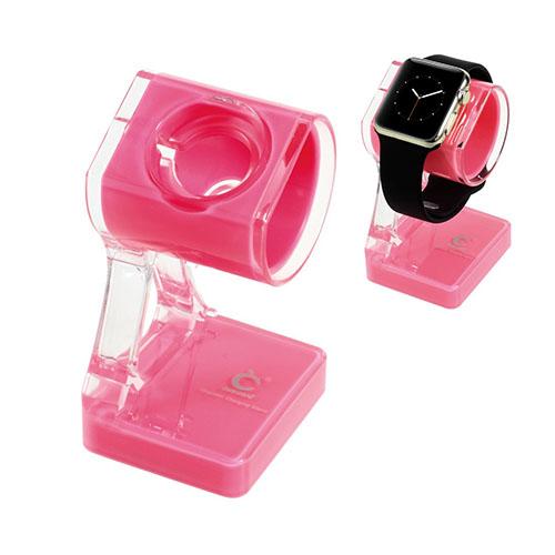 Laddstativ till Apple Watch – Pink