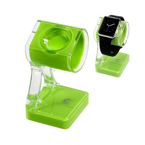 Laddstativ till Apple Watch – Grön