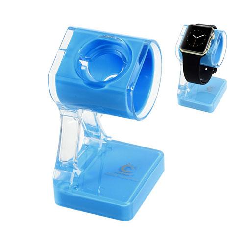 Laddstativ till Apple Watch – Blå