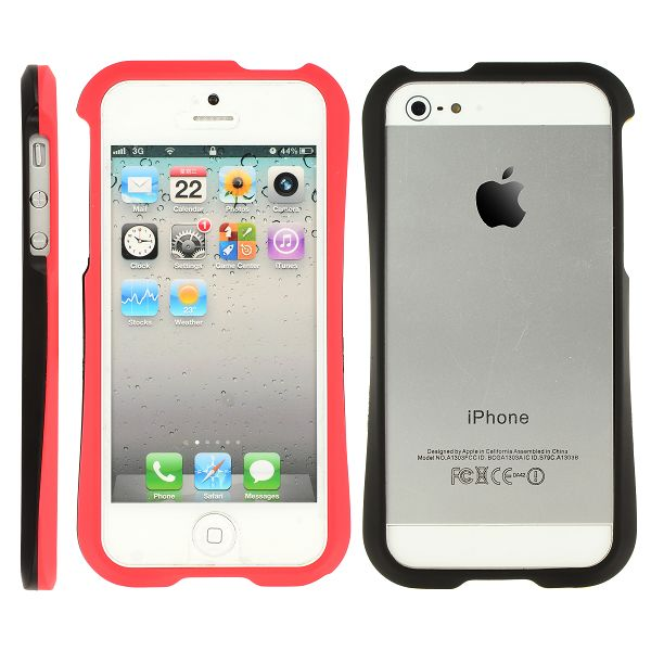 HardSkal Bumper (Röd) iPhone 5 Skal