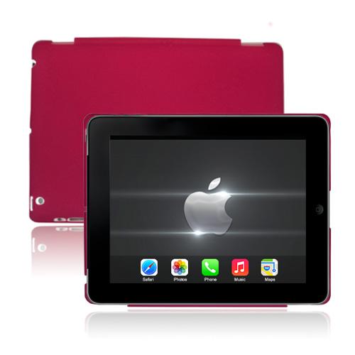 CandyColor Hard Shell Transparent (Rosa) iPad 3 Skal