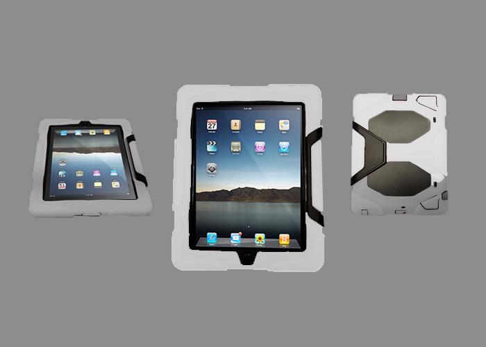 Ultrasäkert – Stödfot (Vit) iPad 3 Skal