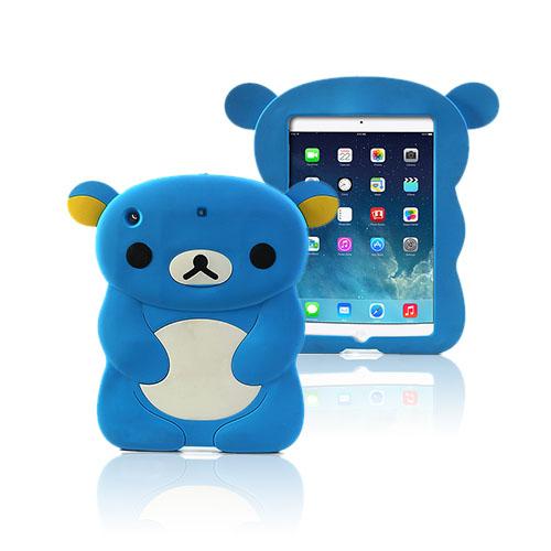 Cute Bear (Blå) iPad Air Skal