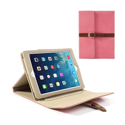 Portfolio (Rosa) iPad Air Läderfodral