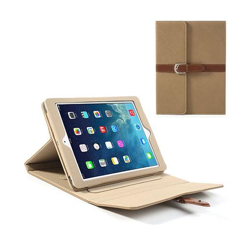 Portfolio (Brun) iPad Air Läderfodral