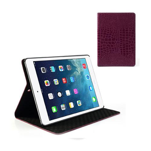 Croco (Lila) iPad Air Läderfodral