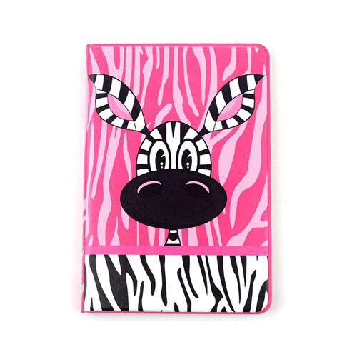 Lofter (Het Rosa – Zebra) iPad Mini 2 / Mini 3 Läder Smart Fodral