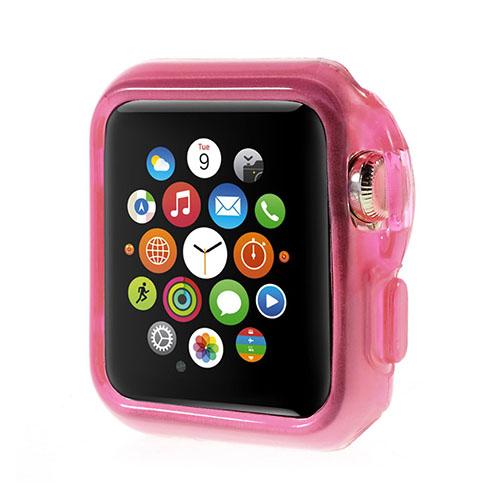 Apple Watch 38mm Flexibelt Skal – Het Rosa