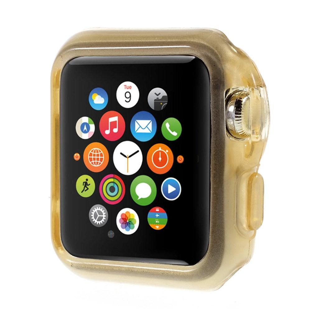 Apple Watch 38mm Flexibelt Skal – Guld