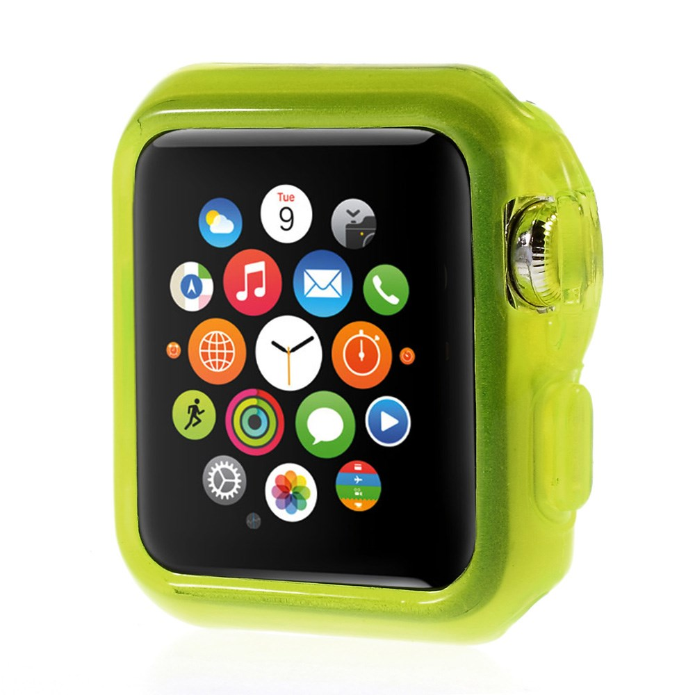 Apple Watch 38mm Flexibelt Skal – Grön