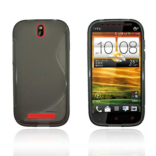 Transparent S-Line (Grå) HTC One ST Skal
