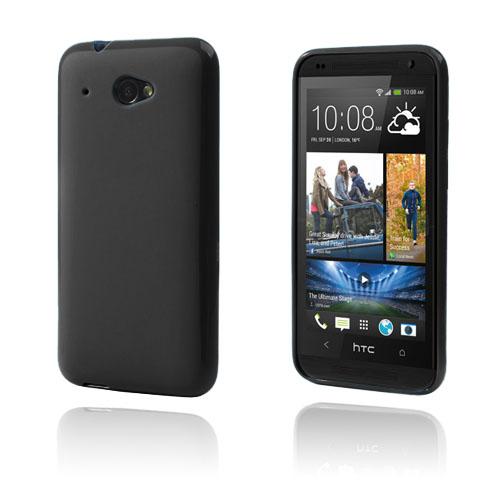 GelCase (Svart) HTC Desire 601 Skal
