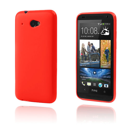 GelCase (Röd) HTC Desire 601 Skal
