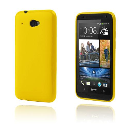 GelCase (Gul) HTC Desire 601 Skal