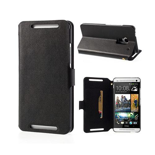 Ambassador (Svart) HTC One Max Genuint Läderfodral