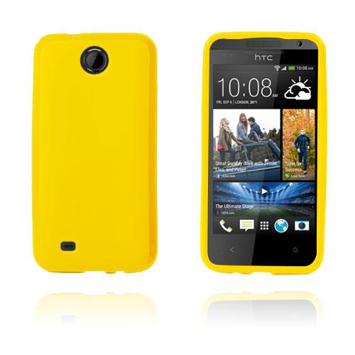 GelCase (Gul) HTC Desire 300 Skal