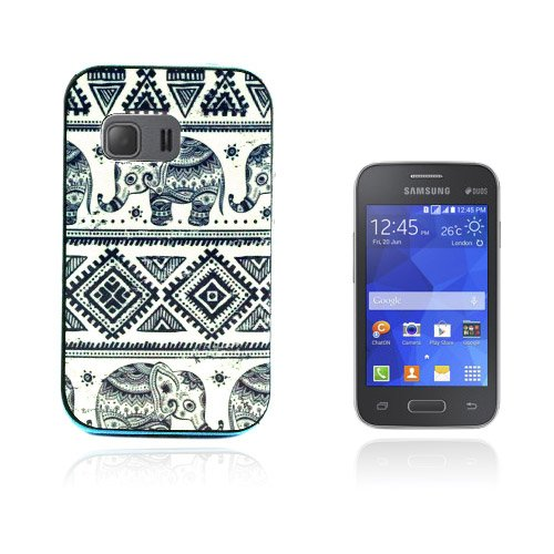 Wester Edge Samsung Galaxy Young 2 Skal – Tribal Elefant Mönster