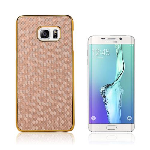 Holt (Brun) Fotbollstextur Skal till Samsung Galaxy S6 Edge Plus