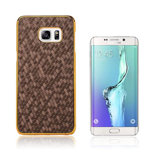 Holt (Gul) Fotbollstextur Skal till Samsung Galaxy S6 Edge Plus