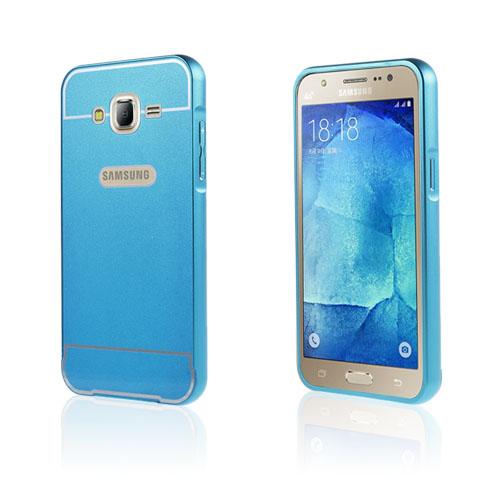Egeland Samsung Galaxy J5 Metall Bumper – Blå