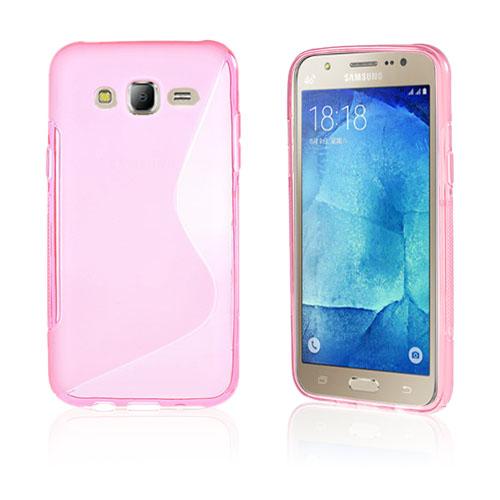 Lagerlöf Samsung Galaxy J5 Skal – Röd