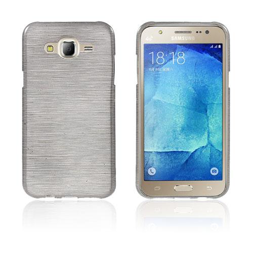 Sund Glossy Samsung Galaxy J5 Skal – Grå