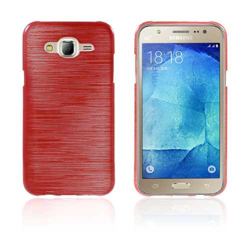 Sund Glossy Samsung Galaxy J5 Skal – Röd