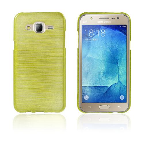 Sund Glossy Samsung Galaxy J5 Skal – Grön