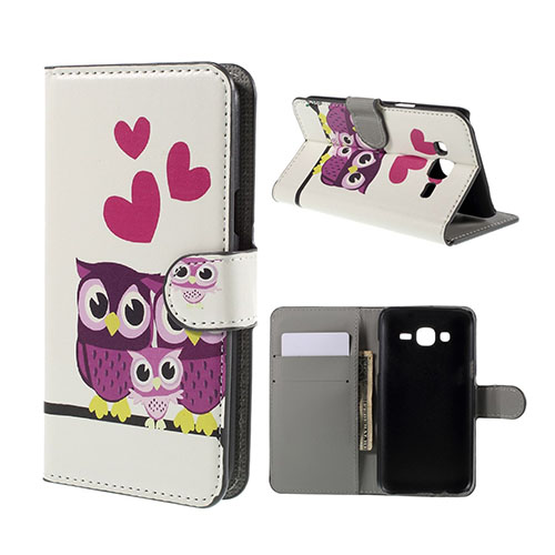 Moberg Samsung Galaxy J5 Fodral – Tre Ugglor & Hjärtan