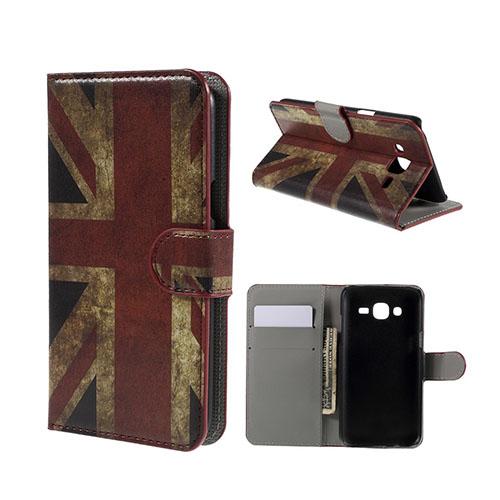 Moberg Samsung Galaxy J5 Fodral – UK Flagga