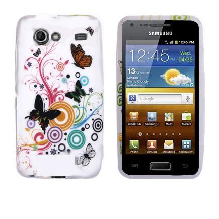 Symphony (Blandade Fjärilar & Cirklar) Samsung Galaxy S Advance Skal