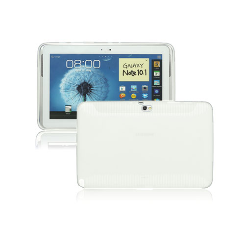 Color Shell (Vit) Samsung Galaxy Note 10.1 Skal