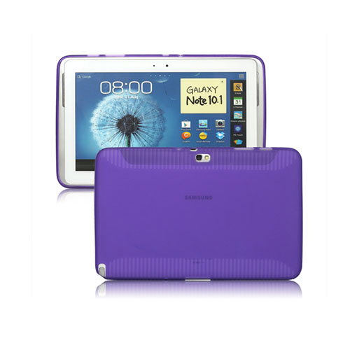 Color Shell (Lila) Samsung Galaxy Note 10.1 Skal