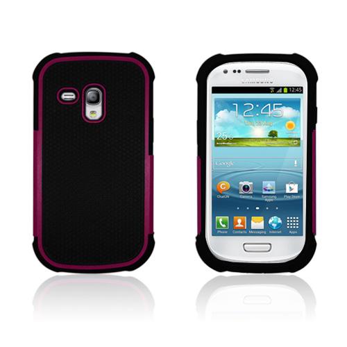 Player (Het Rosa) Samsung Galaxy S3 Mini Kombinationsskal