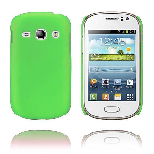 Hard Shell (Grön) Samsung Galaxy Fame Skal
