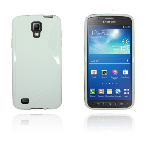 Solid S-Line (Vit) Samsung Galaxy S4 Active Skal