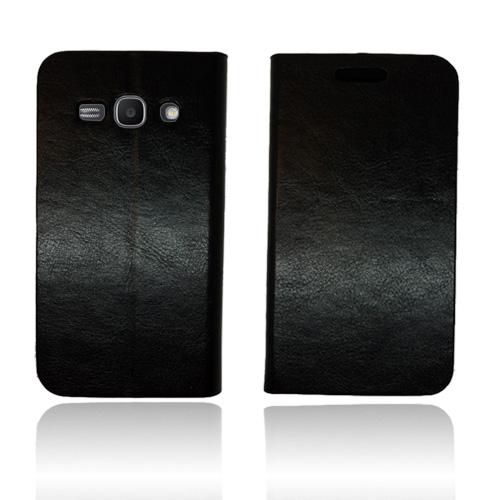 Smooth (Svart) Samsung Galaxy Ace 3 Läderfodral
