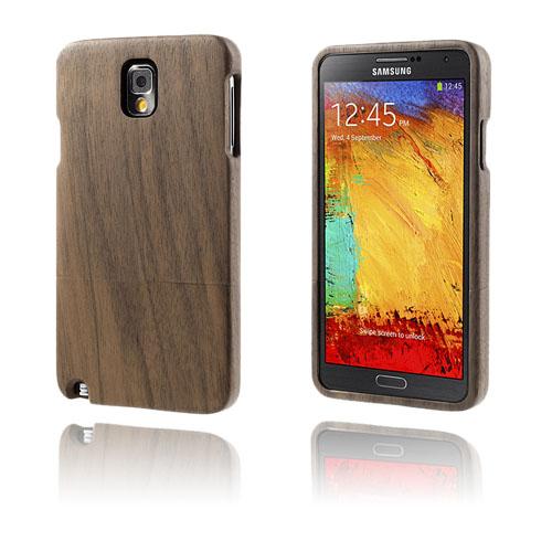 Woody (Valnöt) Samsung Galaxy Note 3 Genuint Träskal