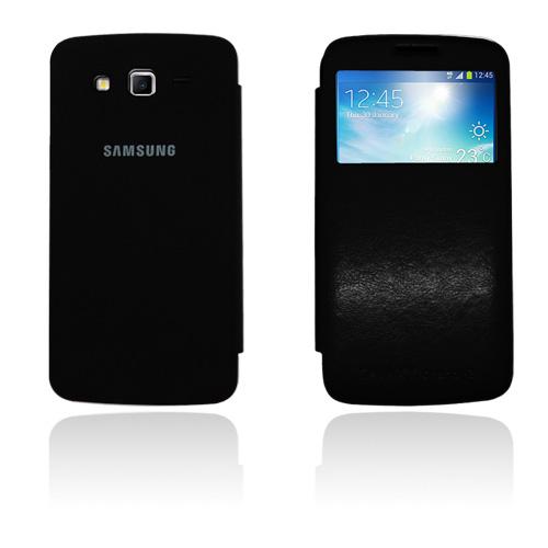 Fuji (Svart) Samsung Galaxy Grand 2 Läderfodral