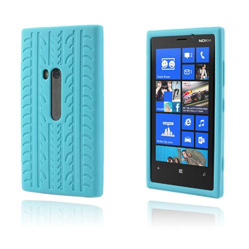 Tire (Ljusblå) Nokia Lumia 920 Skal
