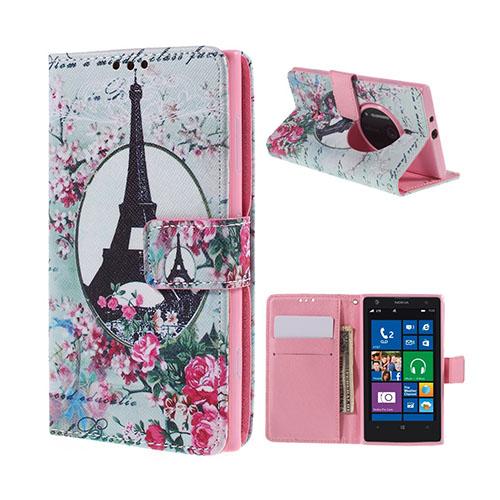 Moberg Nokia Lumia 1020 Fodral – Eiffeltornet & Blommor
